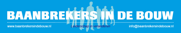 Baanbrekers in de Bouw header